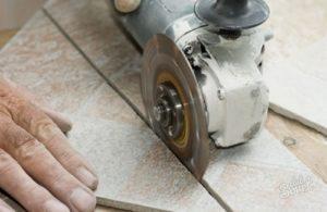 Чем резать кафель