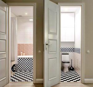 Какие двери выбрать в ванную и туалет