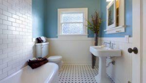 Недорогой красивый ремонт ванной