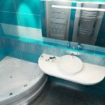 Показываем лучшие ремонты ванной комнаты прошлого года