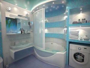 Капитальный ремонт ванной комнаты под ключ